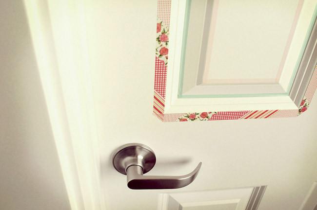 Buenas ideas para decorar tus puertas con washi tape - Ideas para decorar con washi tape ...