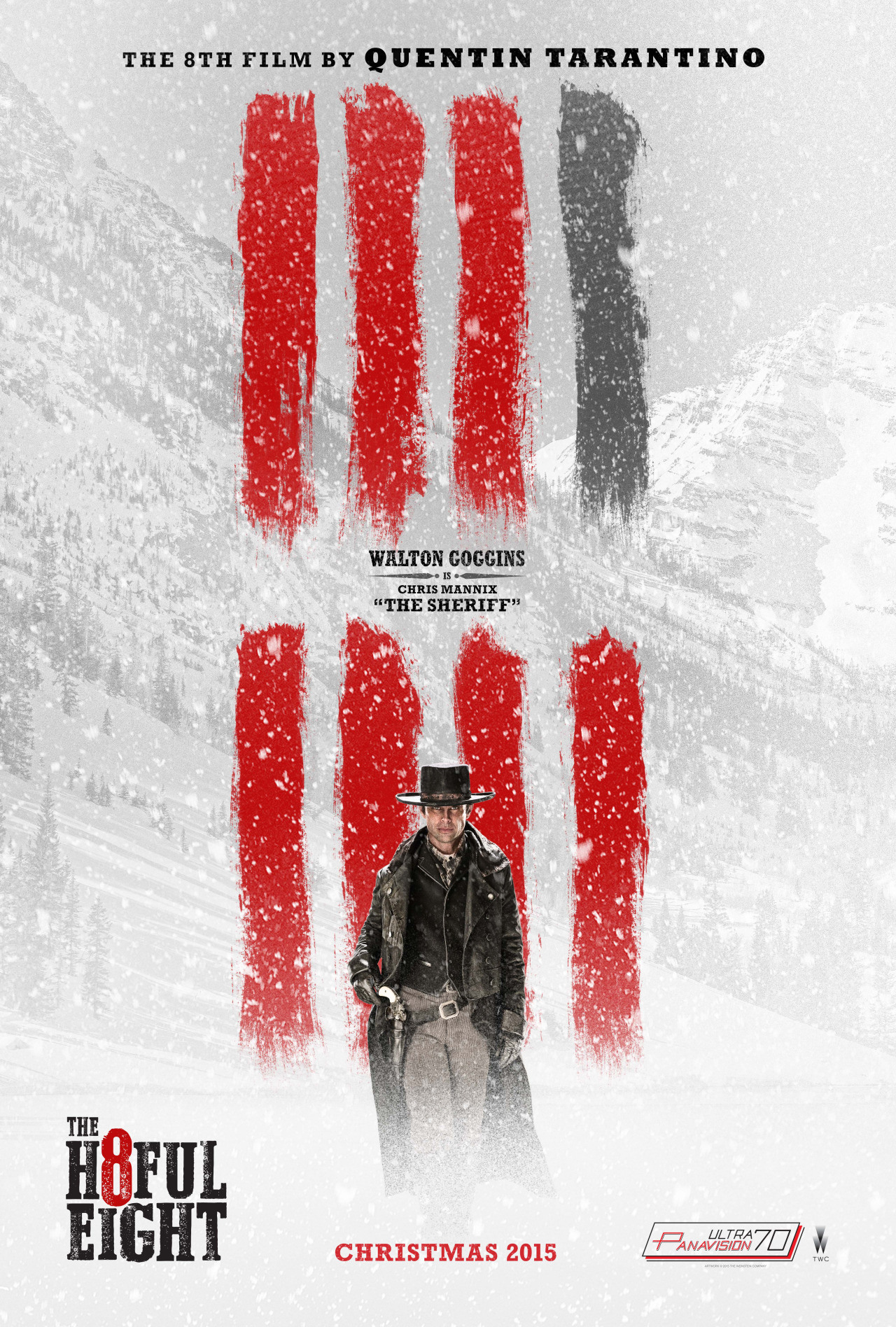 Foto de 'The Hateful Eight', carteles de los protagonistas (3/7)