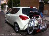 Opel mejora el sistema FlexFix de transporte de bicicletas