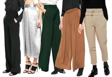 Pantalones Tiro Alto
