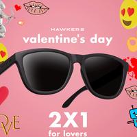 Regresa el 2x1 a Hawkers por San Valentín: te llevas dos pares de gafas de sol y pagas sólo uno