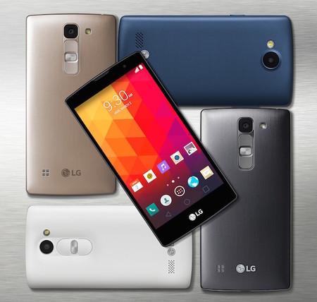 LG Joy, Spirit, Leon y Magna; así es la gama media y baja de LG para este año