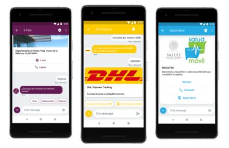 Mensajería RCS en México: Secretaría de Salud y DHL, las primeras empresas que sacarán provecho al WhatsApp de Google