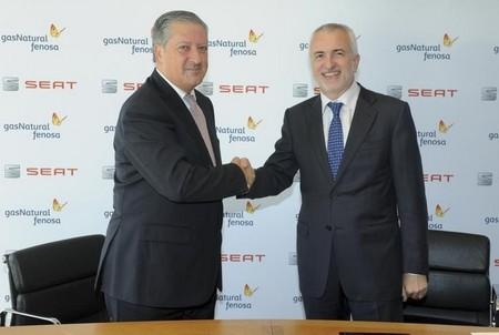 Alianza entre SEAT y Gas Natural Fenosa por el Gas Natural Comprimido
