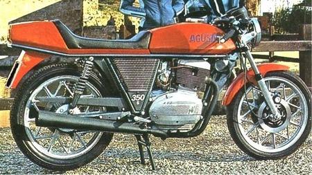 MV Agusta 350 S Ipotesi, diseño italiano de los años 70