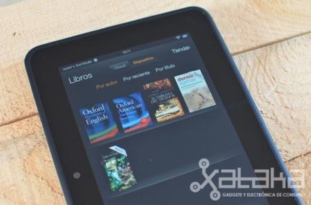 Kindle Fire HD análisis libros electrónicos