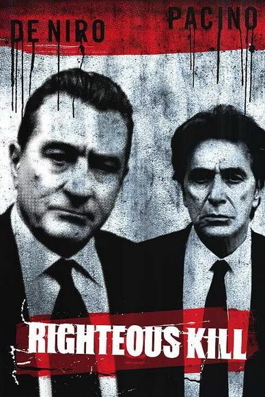 'Righteous Kill' con De Niro y Pacino, nuevos posters