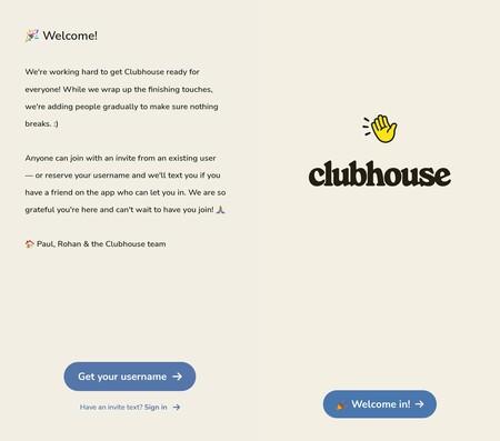 Clubhouse Invitaiones