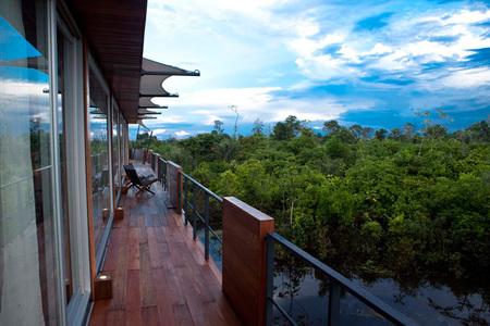 hotel flotante - terraza