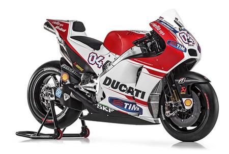 Así es la Ducati Demosedici GP15, macro-galería de una Desmosedici bordada