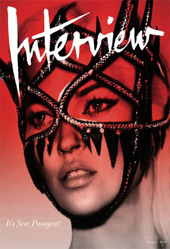 Kate Moss en la portada de Interview