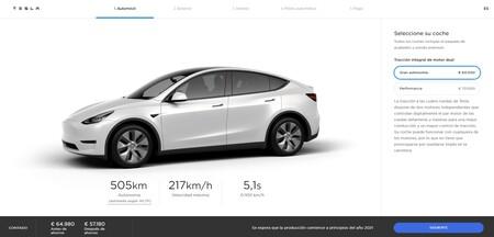 Tesla Model Y Nueva Autonomia