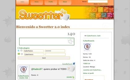 Sweetter, una implementación libre de Twitter