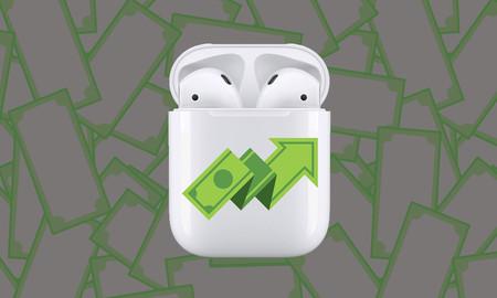 Apple generó más ingresos con los AirPods que Spotify, Twitter, Snapchat y Shopify juntas