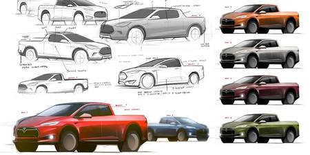 Elon Musk adelanta más detalles sobre el pick-up de Tesla: tracción total y enchufes para maquinaria pesada