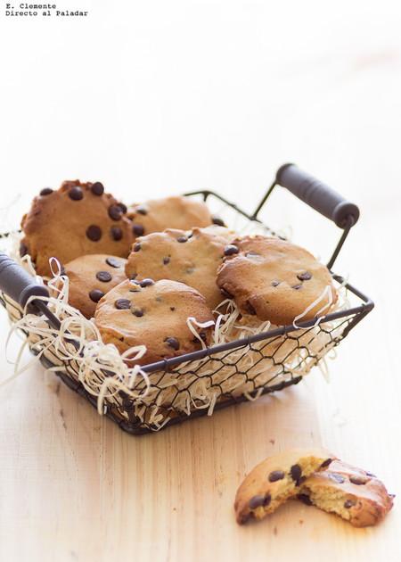 Cookies sin mantequilla. La galleta que comerás sin tantos remordimientos