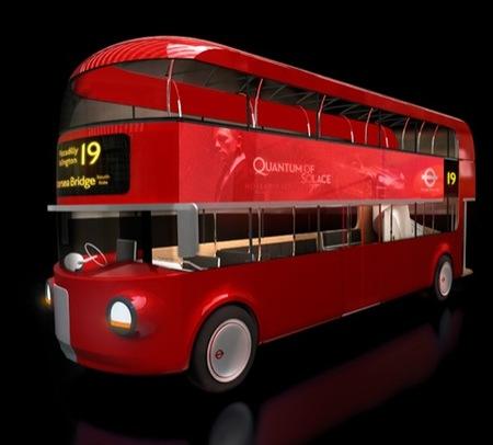 Diseñando los autobuses de Londres del futuro