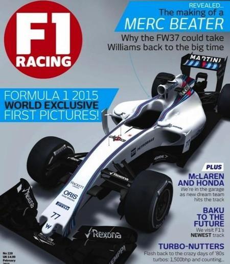 Fórmula 1: el Williams FW37, el primero en asomar el morro