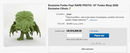 Exclusive Funko Pop Rare Proto 10 Funko Shop 2020 Exclusive Cthulu Ebay
