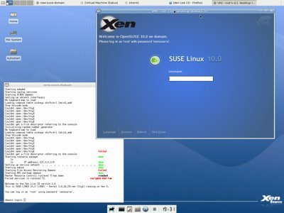 Xen 3.0.3, mejoras a la vista
