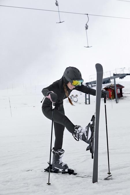 Oysho Gymwear Ski Editorial 15