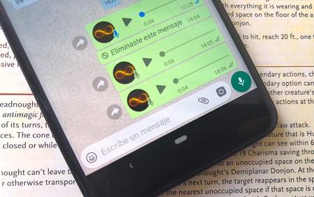 Cómo pasar tus notas de voz a mensajes de texto en WhatsApp