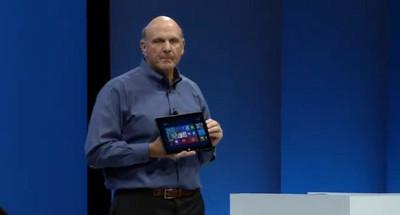 Ballmer admite no estar vendiendo tantos Surface RT y otros dispositivos con Windows como esperaban