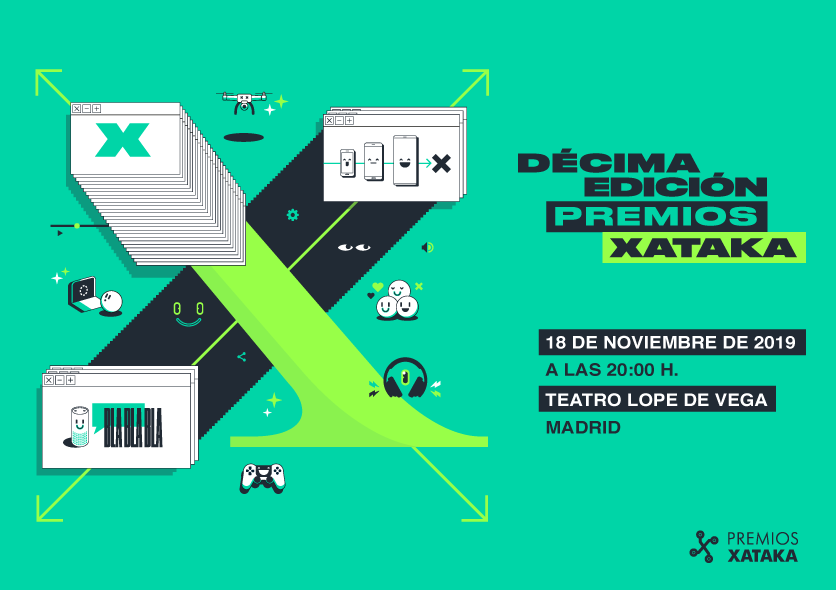 Premios Xataka 2019: reserva el 18 de noviembre