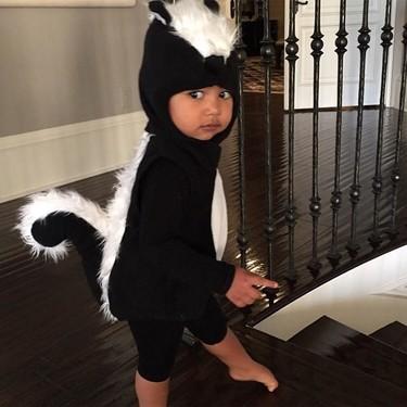 Las minicelebrities también se nos disfrazan para Halloween