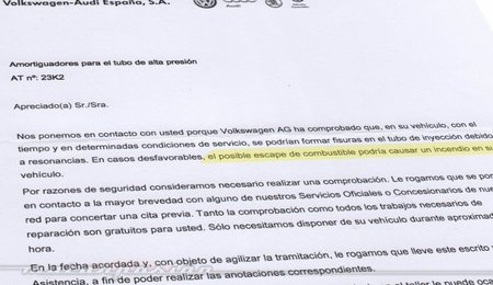 Llamada a revisión de Volkswagen