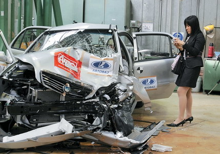 Geely Zi You Jian, otro crash-test de un coche chino