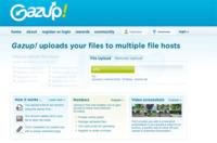 Gazup, subiendo archivos a múltiples servidores de forma simultánea