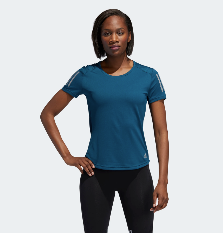 Camiseta Adidas Own The Run para mujer