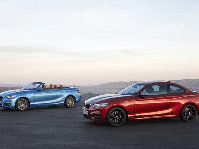 El renovado BMW Serie 2 Coupé está a la venta desde 31.800 euros y el Cabrio desde 38.100 euros