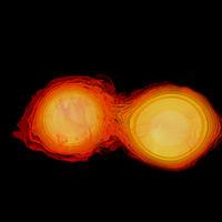 Dos estrellas de neutrones al borde de la aniquilación mutua: hemos encontrado una onda gravitacional completamente nueva