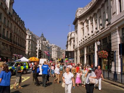 Londres en julio