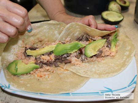 Burrito estilo libre, el delicioso taco norteño. Receta