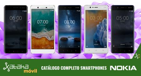 Nokia 7, así encanja dentro del catálogo completo de smartphones Nokia