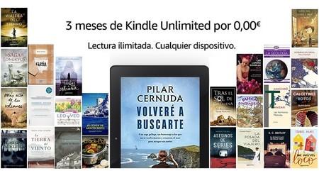 Kindle Unlimited de Amazon gratis durante 3 meses: acceso ilimitado, desde cualquier dispositivo, a 1 millón de libros