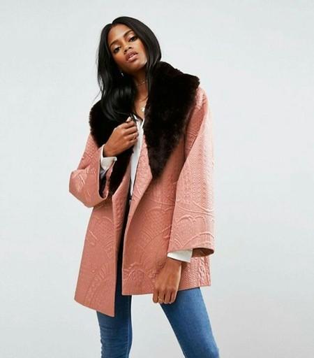 asos abrigo kimono