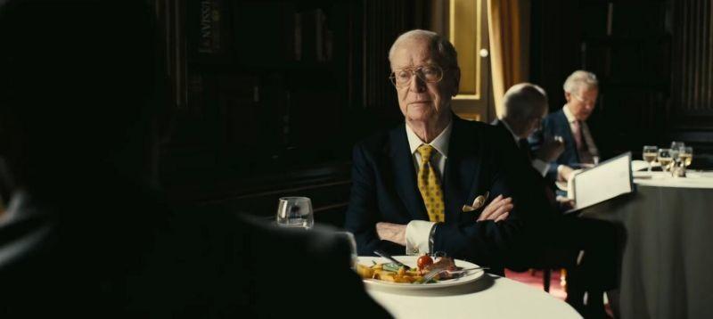 Michael Caine está en 'Tenet' pero no tiene ni idea del argumento de la nueva película de Nolan