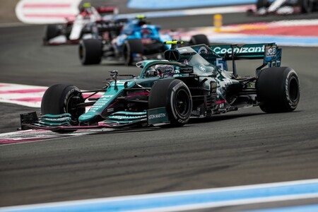 Vettel Francia F1 2021