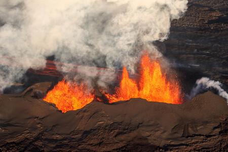 Volcanes carburante sintético