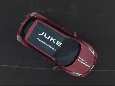 Si las cámaras 360 no te convencen, mira este vídeo de un Juke girando sobre sí mismo con las lunas tapadas