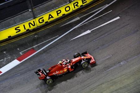 Leclerc Singapur F1 2019