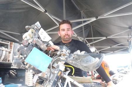 Damien Udry Etapa11 Dakar2015