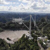 Es oficial, el Observatorio Arecibo será demolido: después de la rotura del segundo cable la estructura llega a su fin