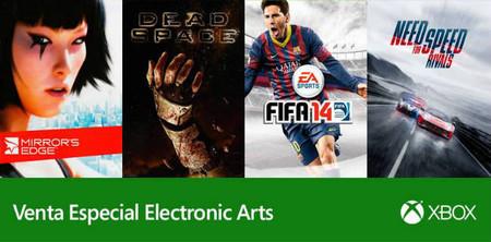 Muchos juegos de Electronic Arts en la oferta semanal de Xbox LIVE