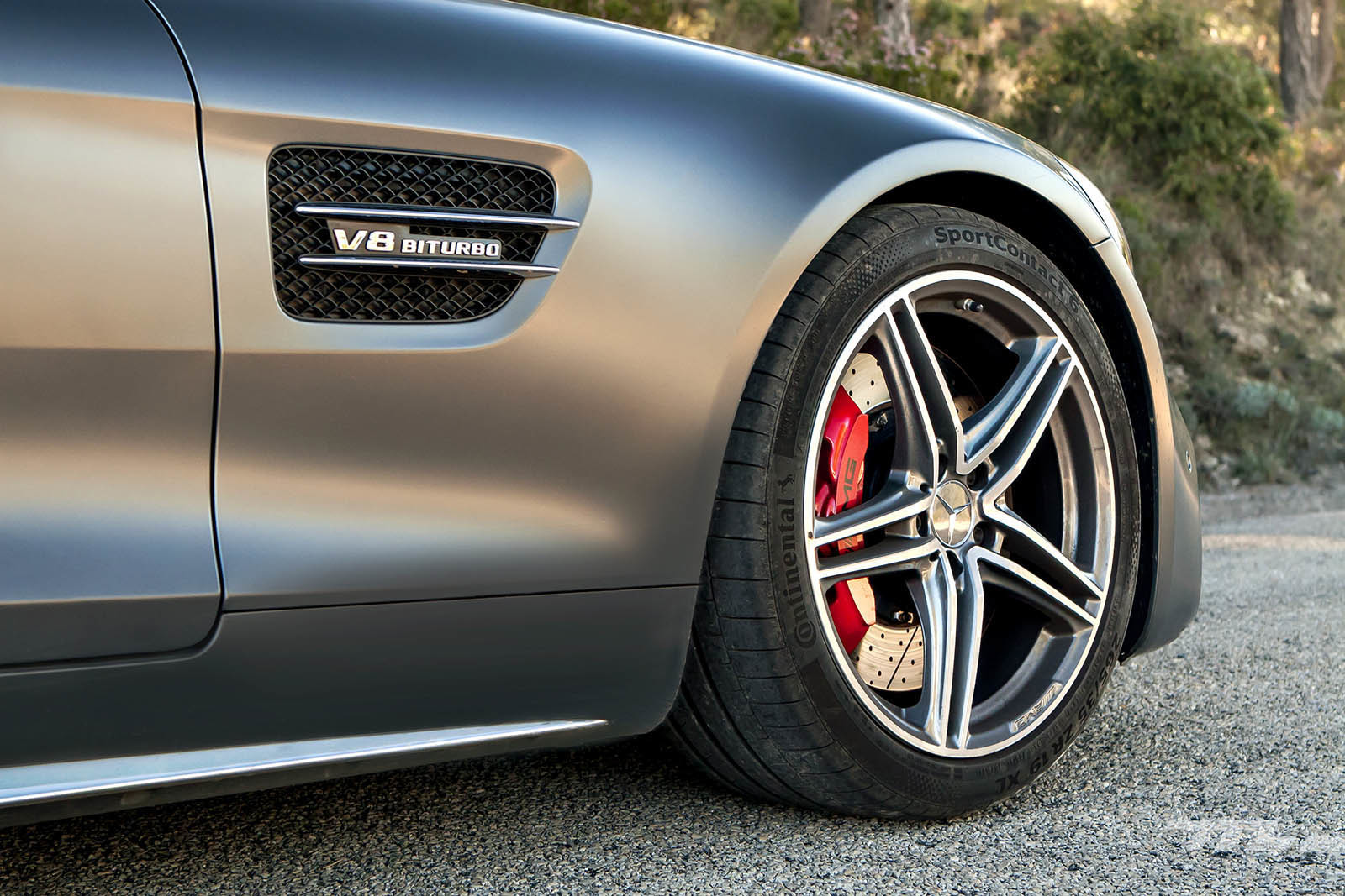 Foto de Mercedes-AMG GT C Roadster 2018 prueba (19/22)