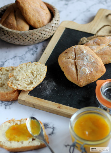 Pan pavé o adoquín de pan. Receta para panarras